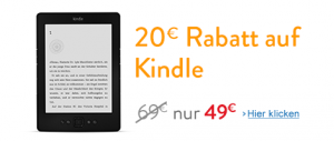 Kindle Aktion bei Amazon