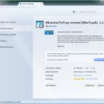 MinimizeToTray - Lösung dafür das Thunderbird zweimal startet
