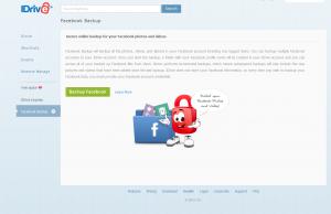 IDrive Homepage
