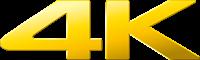Sony 4K Logo
