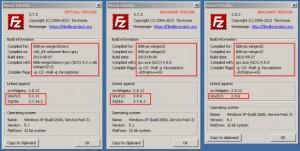 gefälschter filezilla ftp client