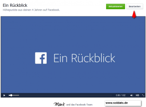 facebook lookback video bearbeiten