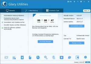 Glary Utilities Pro kostenlos