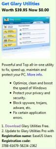 Glary Utilities Pro kostenlos von easeus