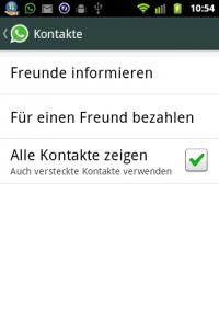 WhatsApp fuer einen freund bezahlen