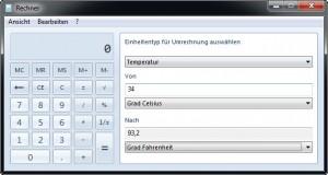 windows-taschenrechner-umrechnen