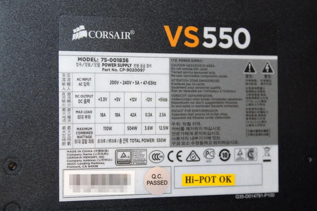corsair-VS550-watt-und-amper-angaben-bild