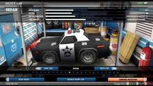 Mini Motor Racing EVO-Autoauswahl