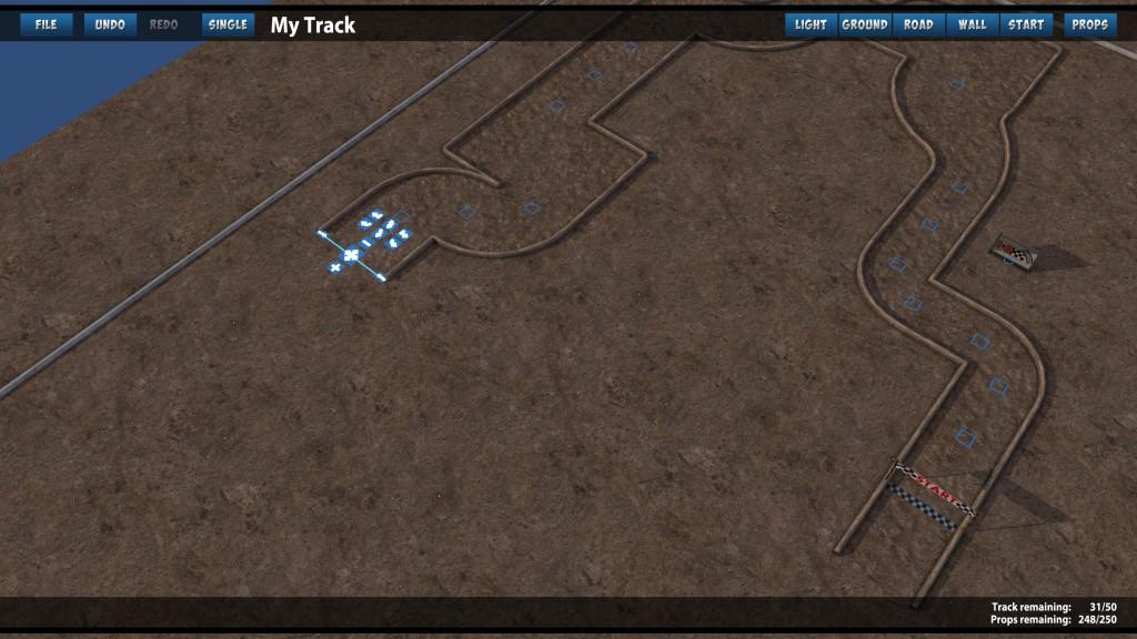 Mini Motor Racing EVO-Streckeneditor