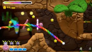 WiiU Kirby und der Regenbogen Pinsel