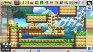WiiU Mario Maker Screenshot