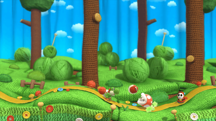 WiiU Yoshis Woolly World Screenshot