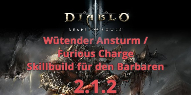 Diablo  Furious Charge Build