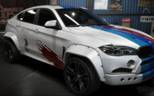 BMW X6 als Offroader in NSF Payback